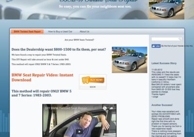 BMW Seat Repair