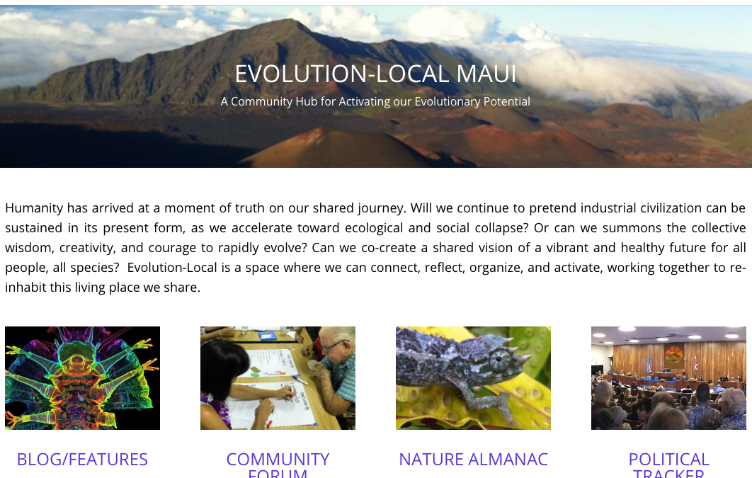 Evolution Local Maui